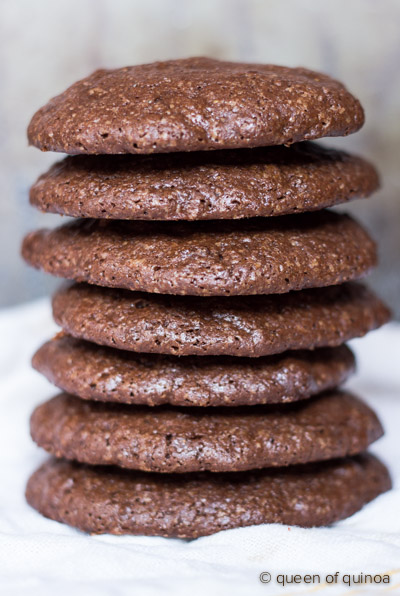 Dark Chocolate Quinoa Cookie