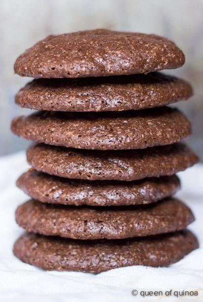 Dark Chocolate Quinoa Cookie