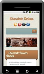 ChocolateDriven.com app