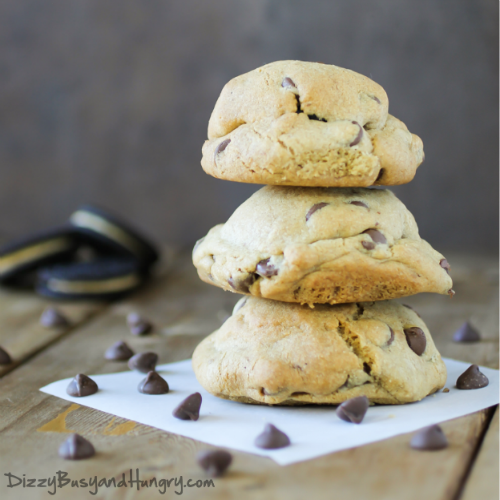 Stuffed Chocolate Chip Cookie