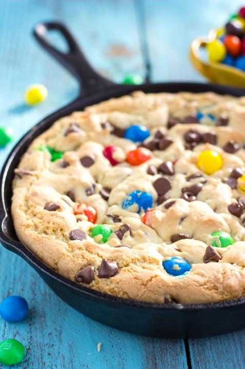 Skillet Birthday Cookie