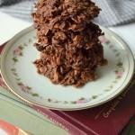 Fudgy Nobake Cookies
