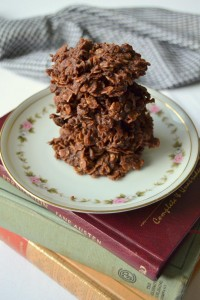 Fudgy Nobake Cookies