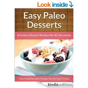 Easy Paleo Desserts book