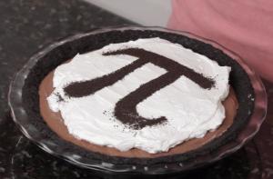Chocolate Mousse Pi Pie